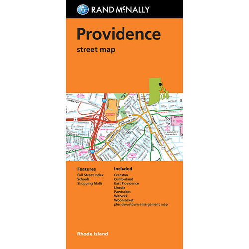 Folded Map: Providence Street Map