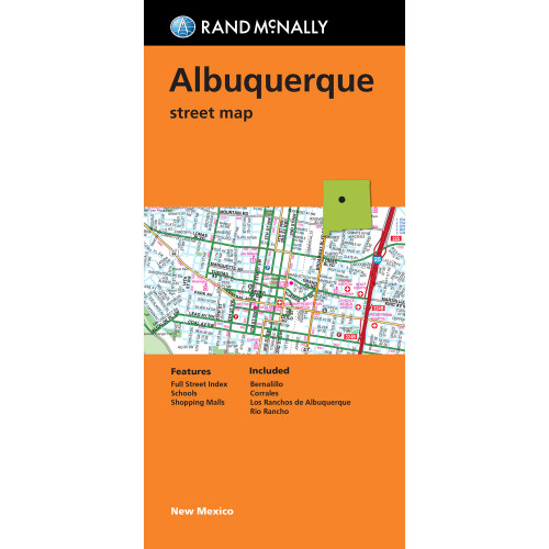 Folded Map: Albuquerque Street Map
