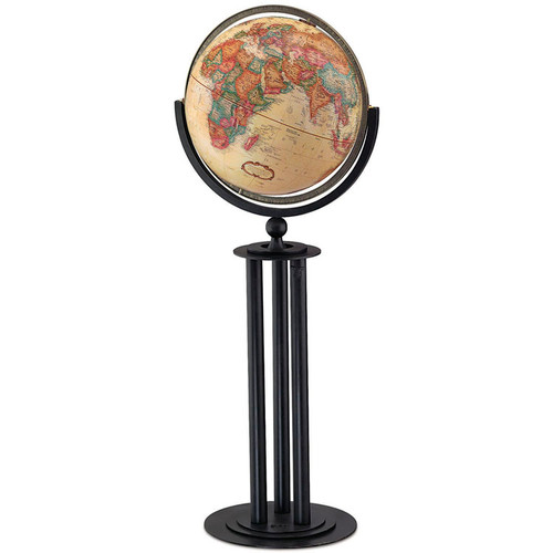 "Forum Antique Oceans 16"" Floor Globe"