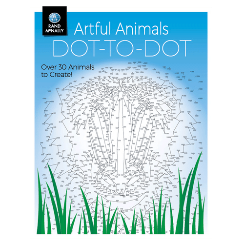 Artful Animals Dot-to-Dot