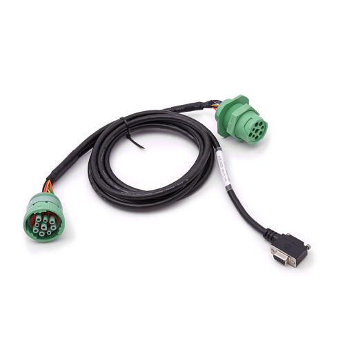 DB15 to 9-Pin Y-Cable Type 2 with Bulkhead for DC 200 S (2017 Paccar)