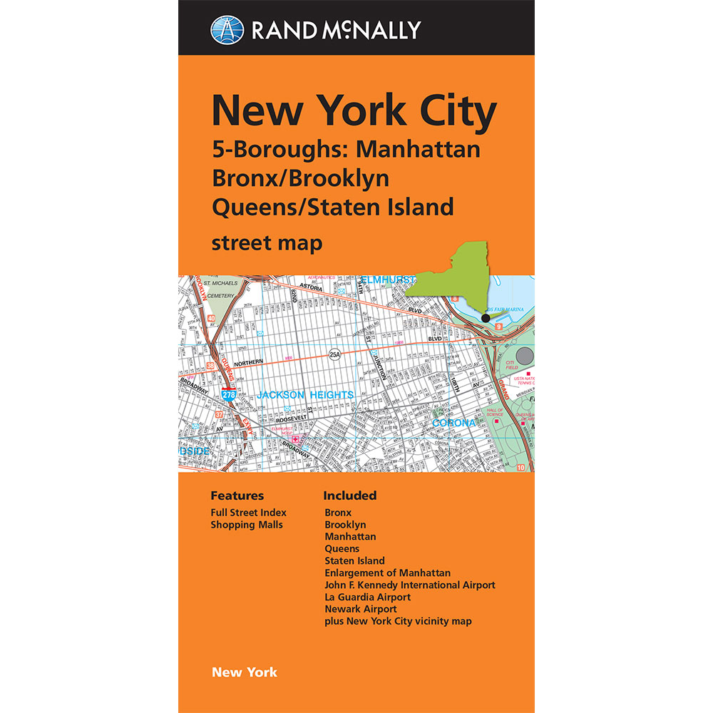 Folded Maps New York City Boroughs ManhattanBonxBrooklyn - New york city map with boroughs
