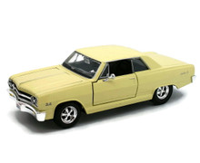 1965 Chevrolet Malibu SS MAISTO SPECIAL EDITION Diecast 1:24 Scale Yellow