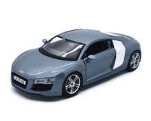 Audi R8 Coupe MAISTO SPECIAL EDITION Diecast 1:24 Scale Metalic Blue
