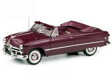 FRANKLIN MINT 1949 Ford Custom Convertible LE Diecast 1:24 Scale NEW MIB