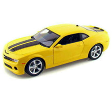 2010 Chevrolet Camaro SS/RS MAISTO SPECIAL EDITION Diecast 1:18 Scale Yellow