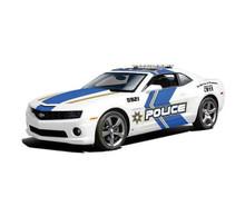 2010 Chevrolet Camaro SS/RS POLICE Car MAISTO SPECIAL EDITION Diecast 1:18 Scale
