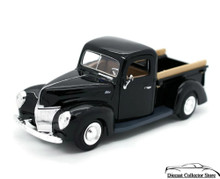 1940 Ford Pickup MOTORMAX Diecast 1:24 Scale Black