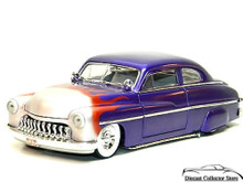 "1949 Mercury ""Lead Sled"" w/Flames Ertl AMERICAN MUSCLE Diecast 1:18 Scale"