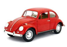 1967 Volkswagon Beetle ROAD SIGNATURE Diecast 1:18 Scale Red