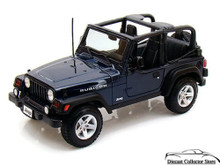 Jeep Wrangler RUBICON - MAISTO SPECIAL EDITION Diecast 1:18 Scale Navy Blue