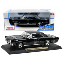 1965 Pontiac GTO MAISTO SPECIAL EDITION Diecast 1:18 Scale Black