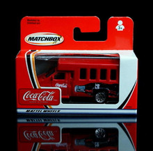 Matchbox Chevrolet Transporter COCA COLA Series Diecast 1:64 Scale  Coke