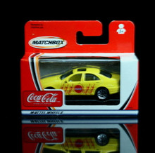 Mercedes - Benz S500 Matchbox  COCA COLA Series Diecast 1:64 Scale  Coke