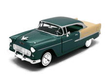 1955 Chevrolet Chevy Bel Air MOTORMAX Diecast 1:24 Scale Green