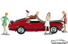 60's Sweeties Set #2 MOTORHEAD Minitures Diorama Figures 1:24 Scale sets of 4