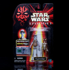 STAR WARS Action Figure Ody Mandrell w/Otoga 222 Pit Droid ComTech Chip