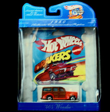 1980 HOT WHEELS  Limited Edition Commemorative '40's Woodie