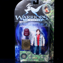 WARRIORS OF VIRTUE Action Figure RYAN Play'em Toys 71006