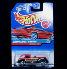 Classic Caddy HOT WHEELS TROPICOOL SERIES #3 Diecast 1:64 Scale