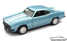 1969 Chevrolet Camaro Z28 NewRay City Cruiser Diecast 1:32 Scale Blue FREE SHIPPING
