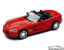 Dodge Viper SRT/10 NewRay City Cruiser Diecast 1:32 Scale Red FREE SHIPPING