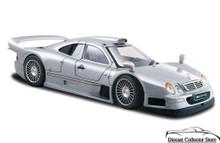 Mercedes - Benz CLK-GTR Street Version MAISTO Diecast 1:26 Scale Silver