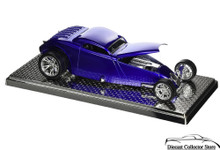 Thom Taylor EXTREME CUSTOMS SWOOP COUPE w/Display Showcase Diecast 1:24