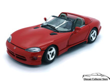 Dodge Viper R/T10 Bburago Diecast 1:24 Scale Red