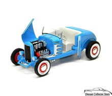 1932 Ford High Boy Street Rod American Muscle ERTL Diecast 1:18 Scale Blue