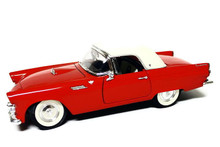 1955 Ford Thunderbird T-Bird Hdtp ROAD TOUGH YAT MING Diecast 1:18 Scale Red