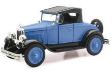 1928 Chevrolet Roadster NewRay Diecast 1:32 Scale Blue FREE SHIPPING