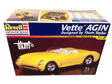 1953 Chevrolet Corvette THOM TAYLOR VETTE AGIN Revell 1:24 Model Kit Sealed