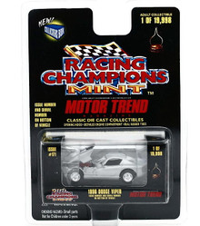 1996 Dodge Viper RACING CHAMPONS Motor Trend LE Diecast 1:55 Scale FREE SHIPPING