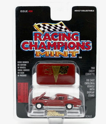 1963 Chevrolet Chevy Corvette RACING CHAMPONS Diecast 1:53 Scale FREE SHIPPING