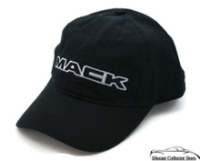 Hat - MACK Truck Embroidered 100% Cotton Adjustable Ball Cap Black FREE SHIPPING