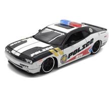 Dodge Challenger POLICE  MAISTO Diecast 1:24 Scale Black & White