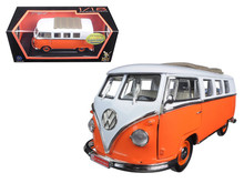 1962 Volkswagon Microbus ROAD SIGNATURE Diecast 1:18 Scale Orange