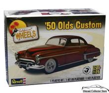 1950 Olds Oldsmobile Custom REVELL Model Kit 1:25 Skill 3