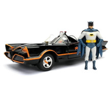 1966 Classic TV Series Batmobile & Batman Jada Diecast 1:24 Scale FREE SHIPPING