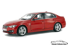 BMW F30 3 Series PARAGON Diecast 1:18 Scale Melbourne Red 97024 FREE SHIPPING