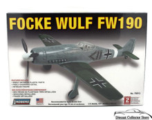 Focke Wulf FW190 Lindberg Aircraft Model Kit 1:72 Scale FREE SHIPPING