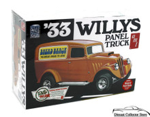 1933 Willys Panel Truck AMT Plastic Model Kit 1:25 Scale #879 Enhanced Reissue