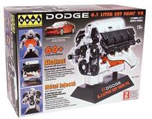 Dodge 6.1 Liter SRT Hemi V8 Engine HAWK Diecast 1:6  Model Assembly Kit