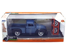 1953 Chevy Pickup w/ Extra Wheels JADA JUST TRUCKS Diecast 1:24 Scale Blue 97330