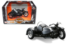 HARLEY DAVIDSON 1948 FL with Side Car Diecast 1:18 Scale  FREE SHIPPING