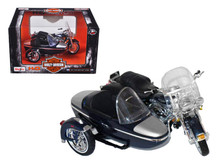 HARLEY DAVIDSON 2001 FLHRC Road King Classic w/ Side Car MAISTO Diecast 1:18 Scale FREE SHIPPING