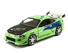 Brian's 1995 Mitsubishi Eclipes Fast & Furious JADA Diecast 1:24 Scale 97603