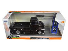 1952 Chevy COE Pickup w/ Extra Wheels JADA JUST TRUCKS Diecast 1:24 Scale Brown 98021