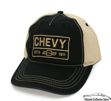 Hat - Chevy estd 1911 Unstructured Embroidered Ball Cap FREE SHIPPING
